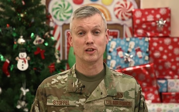 Col. Matthew Stoffel Holiday Shout-out