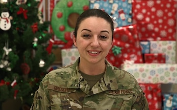 Staff Sgt. Laura Gregory Holiday Shout-out