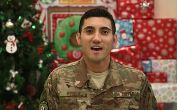 Tech. Sgt. Marcus Perez Holiday Shout-out