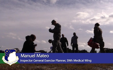 Medics train for real world events