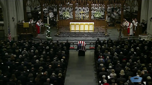 Final Funeral Service for President George H.W. Bush