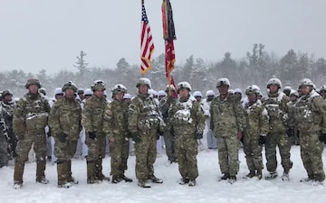 Army Vs. Navy spirit video by 1st Brigade Combat Team, 10th Mountain Division