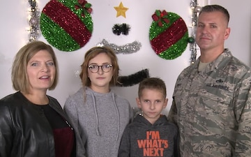 CMSgt Jeremiah Dinan Holiday Greeting-Toledo OH