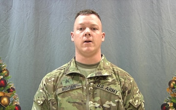 Holiday Greetings Sgt. Houser