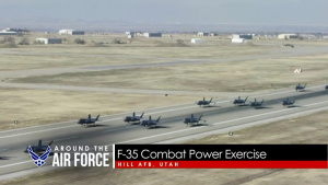 Around the Air Force: ANG Wildfire Assist / B-21 Update / F-35 Weapons Test