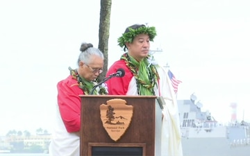 Pearl Harbor 77th Remembrance Ceremony (77th Anniversary of the Attack on Pearl Harbor)