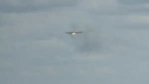 B-52 Landing at RAAF base Darwin
