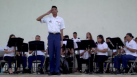 BRoll-Super Typhoon Yutu-Band Performs