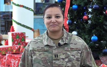 Capt Claudia Santos Holiday Shoutout