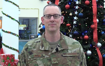 MSgt Daniel Exum Holiday Shoutout