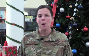 MSgt Jessie Lamb Holiday Shoutout