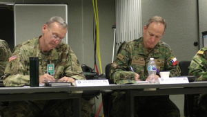 Galleon Minute - U.S., Colombian Army Staff Talks