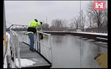 Buffalo District Uses R.O.V. to Scan Black Rock Lock North Gate Area