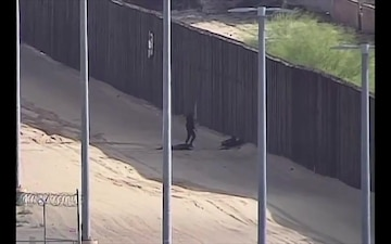A pair of Guatemalan teens sustained severe injuries after they fell off the 18-foot border wall while attempting to illegally enter the United States Friday.