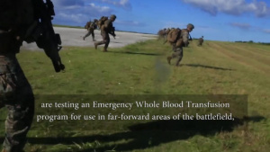 "BLT 2/5 spearheads ""Valkyrie"" blood transfusion training program"