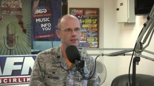 Lt. Col. McDaniel, 39th CS commander, talks about phishing attempts