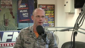 Lt. Col. McDaniel, 39th CS commander, talks about AF Core Values
