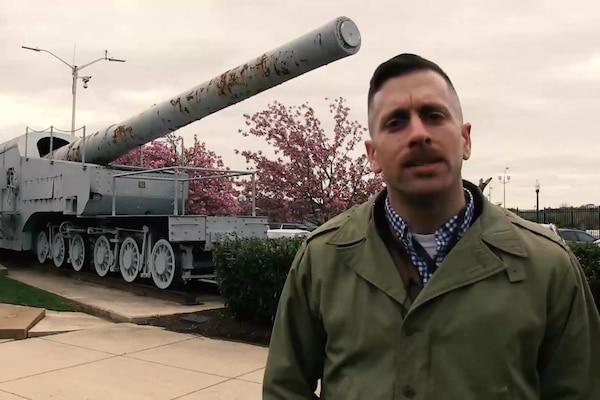 U.S. Navy Railroad Gun