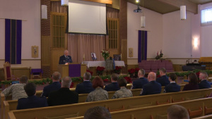 Memorial Service for Staff Sgt Anthony Dean and Family