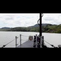 USS Michael Monsoor Transits the Panama Canal