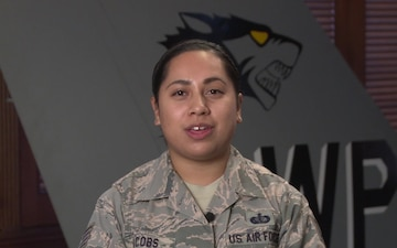Holiday Greetings 2018 SSgt Michelle Jacobs - Suisun City, CA