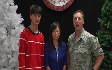Col. Scott Maskery and Family