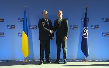 NATO Secretary General bilateral meeting with the President of Ukraine
