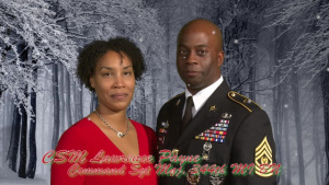 Holiday Greeting: Command Sgt. Maj. Lawrence Payne