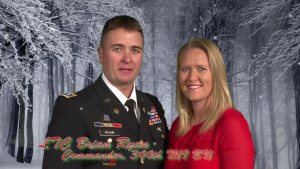 Holiday Greeting: Lt. Col. Brian Ryan