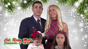 Holiday Greeting: Col. Ricky Mills