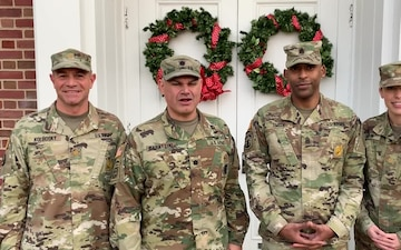 1st Medical Recruiting Battalion Command Group Holiday Greetings