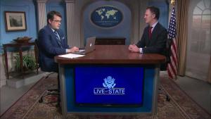 LiveAtState Program with Ambassador Nathan A. Sales, U.S. Coordinator for Counterterrorism