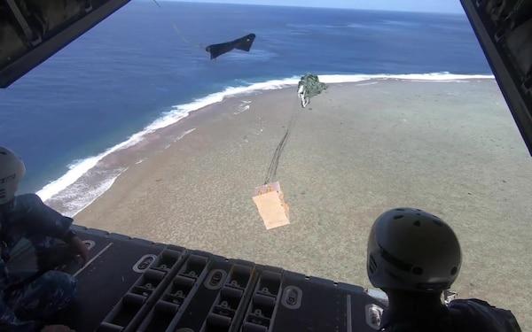 Operation Christmas Drop 2018: RAAF B-roll