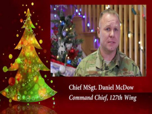 Happy Holidays from the 127th Wing, Michigan Air National Guard