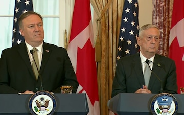 U.S., Canadian Officials Hold News Briefing at State Department