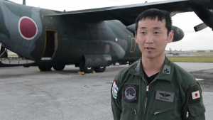 OCD 2018 JASDF Drop Interview Major Mihara