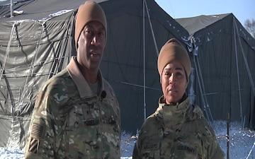 Brig. Gen. Moore and CSM Williams YS 75 Holiday Shout out