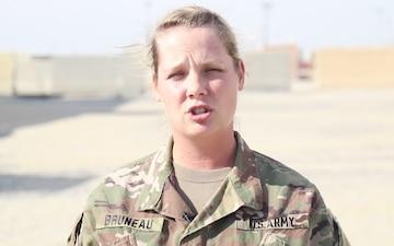 Staff Sgt. Jennifer Bruneau