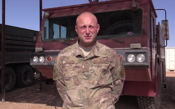 Staff Sgt. Thomas Waters Holiday Greeting