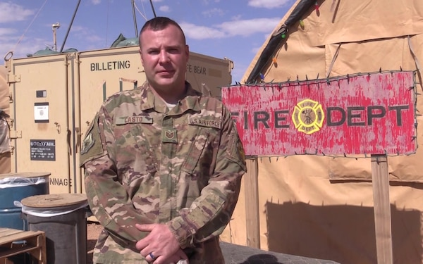 Technical Sergeant Jacob Casto Holiday Greeting