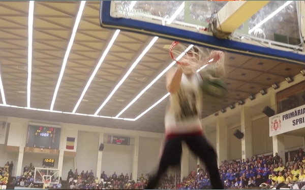 News Package: U.S. Soldiers Play Basketball for Charity