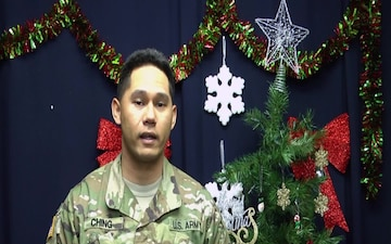 Sgt Gavin Ching Holiday Shout-Out