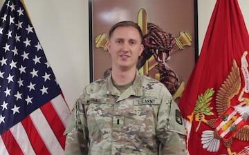 1st. Lt. Michael Marshall