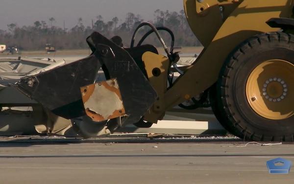 Tyndall Air Force Base vs. Hurricane Michael