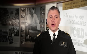 LCDR Anthony Falvo HOLIDAY GREETING