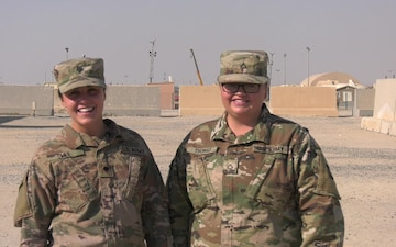 Spc. Madison Lee & Pfc. Hailey Thomas