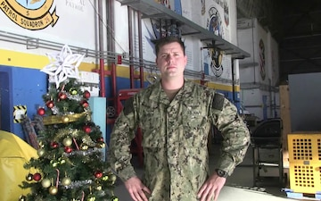 Petty Officer Bobby Barber Happy Holiday Greeting
