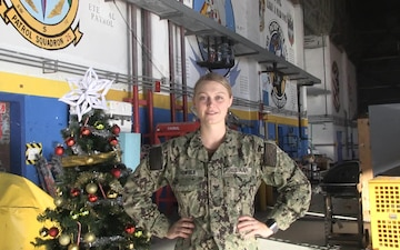 Petty Officer Adeline Vowels Happy Holiday Greeting