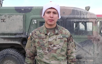 Cpl Alfredo Rios Holiday Shout-Out