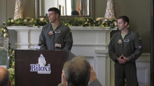 """Thunder Over the Sound"" 2019 Keesler & Biloxi Air and Space Show Press Conference"